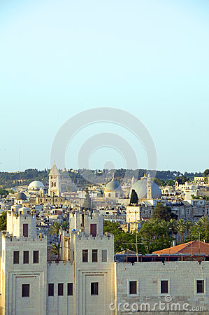 Rooftop Jerusalem Palestine Israel