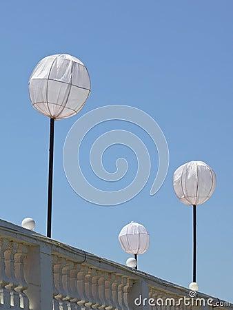 Rooftop lanterns