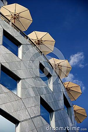 Rooftop Parasols
