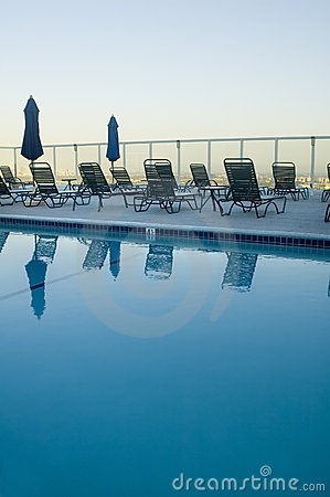 Free Rooftop Pool - Hollywood Stock Photos - 4934473