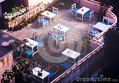 Rooftop Tables