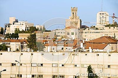 Rooftop view Jerusalem Israel