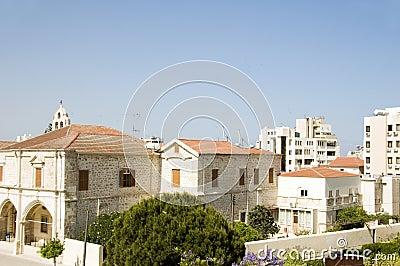 Rooftop view larnaca cyprus
