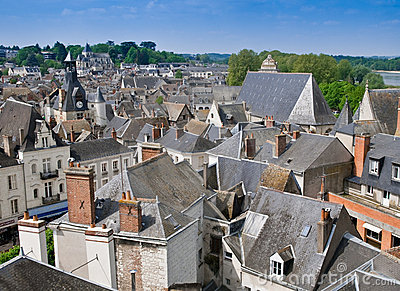 The Rooftops of Blois