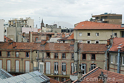 Rooftops in France