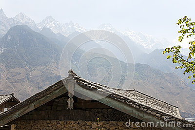 Rooftops and Mountain Peaks