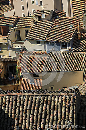 Rooftops in the Provence