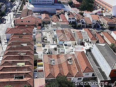 Rooftops of Sao Paulo, Brazil