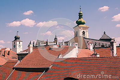 Rooftops and towers