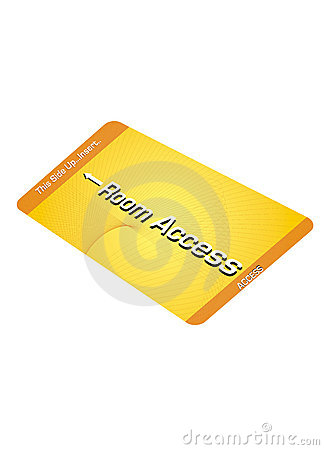 Room access card