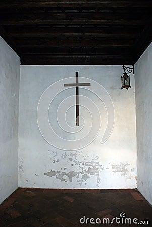 Room with cross