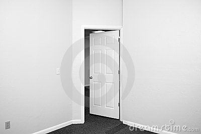 Room door opening out