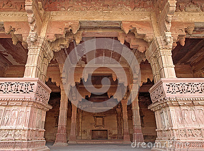 Room in the Fatehpur Sikri, India