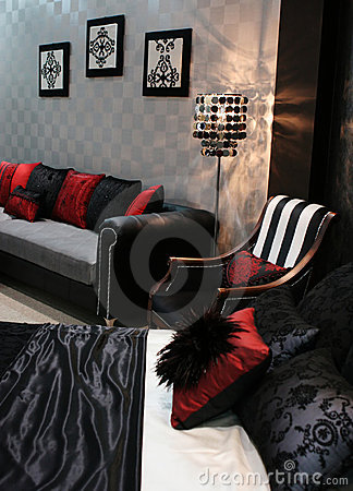 Free Room In A Trendy Home Stock Photography - 2138932