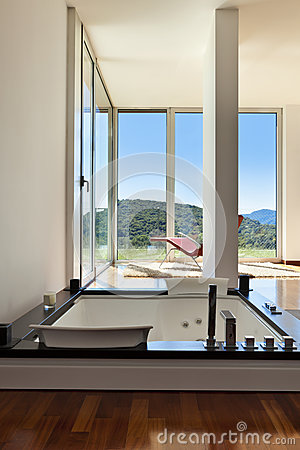 Room with jacuzzi