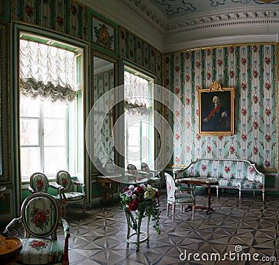 Room in Kuskovo Editorial Stock Photo