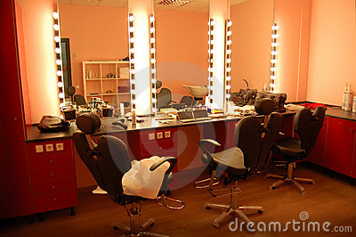 Room of make up.