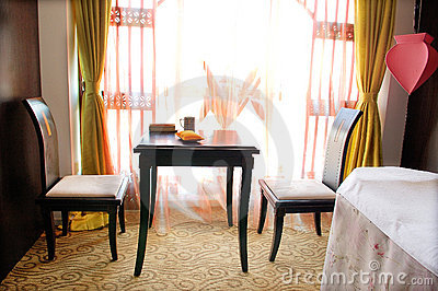 Room For Relaxation In A Spa Royalty Free Stock Photos - Image: 15424298