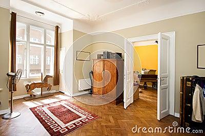 Room in retro style