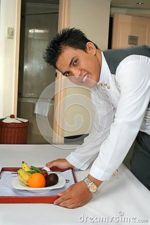 Room service staff