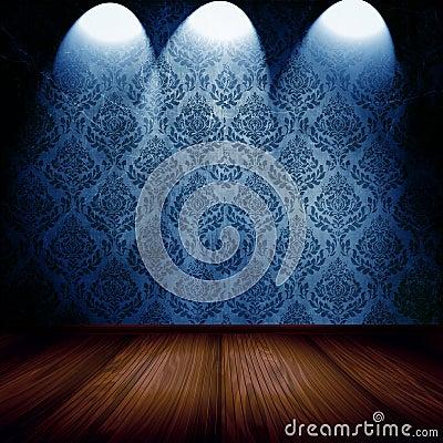 Room With Spotlights