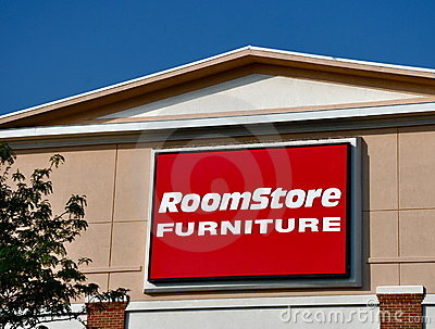Room Store Furniture sign Editorial Photography