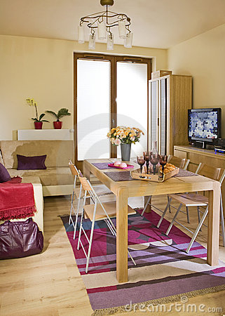 Room with table