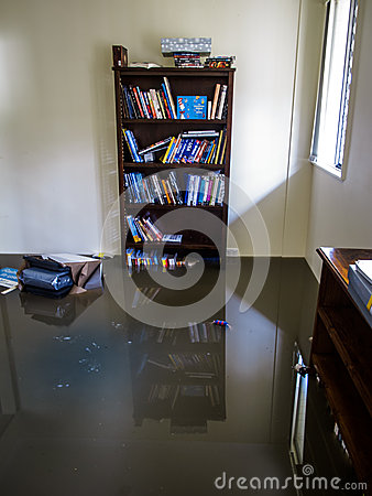 Free Room With Flood Water Royalty Free Stock Images - 36289119