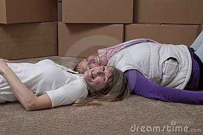 Roommates moving