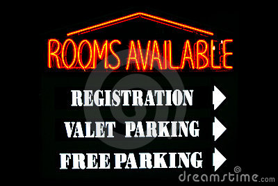 Rooms Available Neon Sign