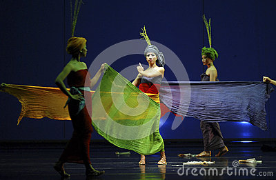 ROOT OF INDONESIAN DANCE Editorial Photography