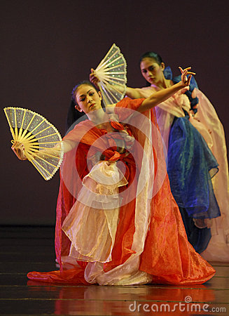 ROOT OF INDONESIAN DANCE Editorial Stock Image