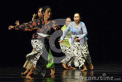 ROOT OF INDONESIAN DANCE Editorial Photo