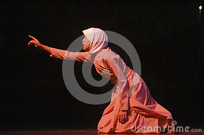 ROOT OF INDONESIAN DANCE Editorial Stock Photo