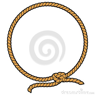 Free Rope Border Lasso Royalty Free Stock Photography - 56068497