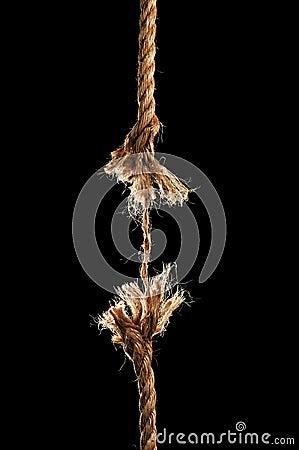 Free Rope Breaking Apart Stock Photo - 4704420