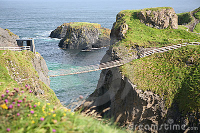 Rope Bridge, Antrim, Northern Ireland
