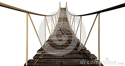 Rope Bridge Close Up
