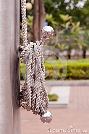 Rope of flag
