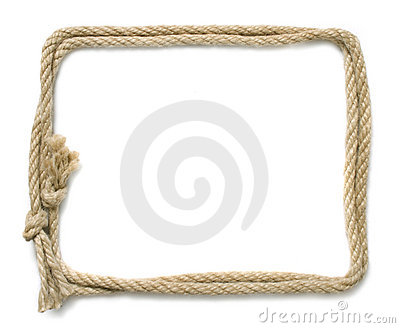 rope frame stock images image 24386384
