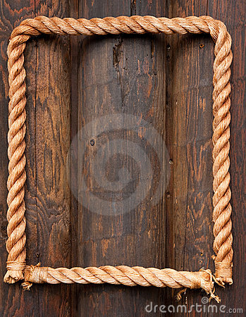 Free Rope Frame Royalty Free Stock Image - 11237846