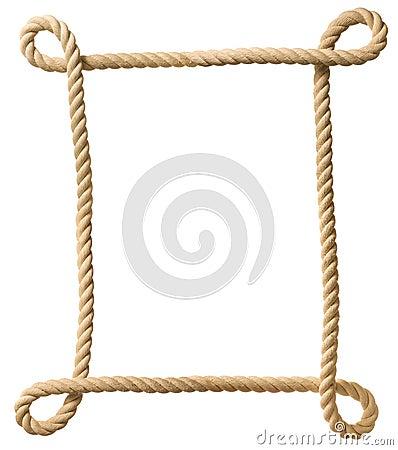 Free Rope Frame Stock Photo - 29377580