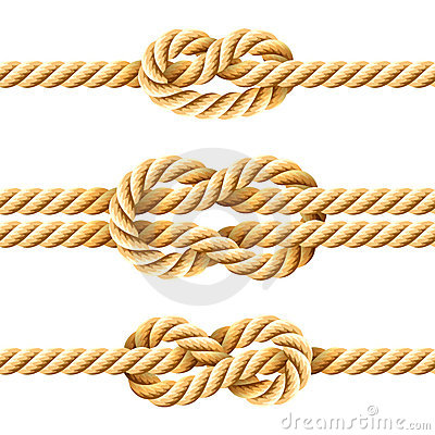 Free Rope Knots Royalty Free Stock Images - 20600619