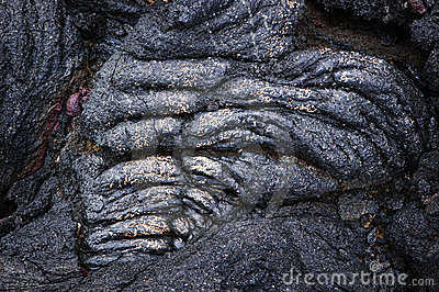 Rope Lava Detail w/ Gold, Hawaii