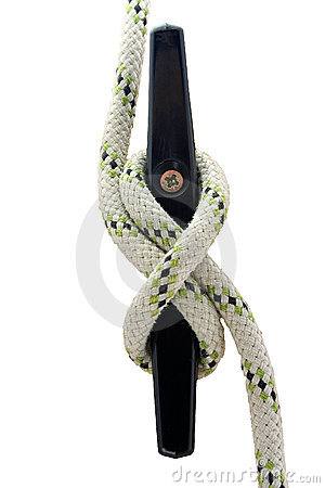 Free Rope On Cleat Royalty Free Stock Photo - 700885