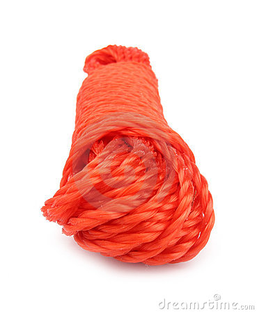 Rope red synthetic strong