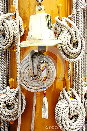 Rope and ring bell