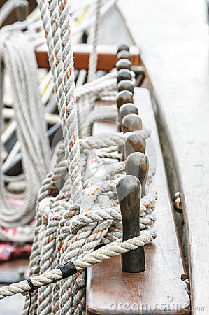 Rope sail and rig