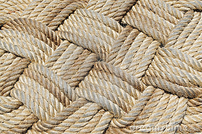 Rope weave.
