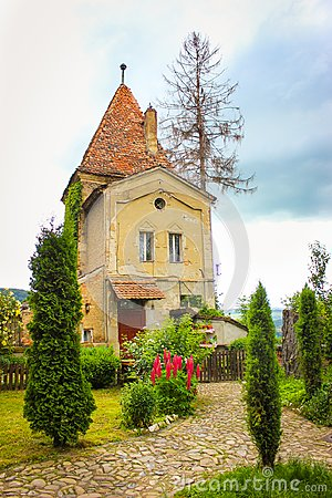 Free Ropemakers' Tower Ancient Buiding In Sighisoara Royalty Free Stock Images - 106743149